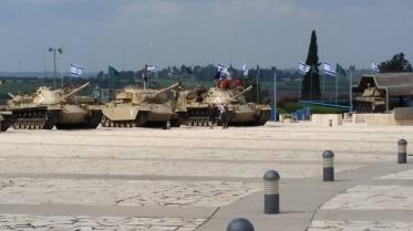 Israel-D9-tanks